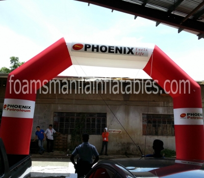 Phoenix Inflatable arch
