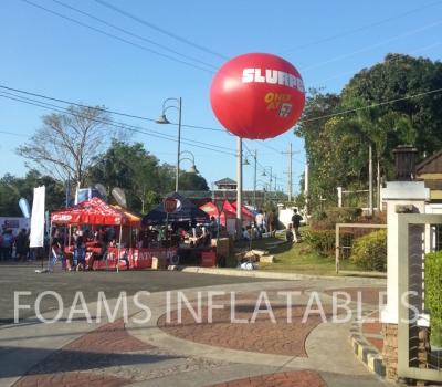 Slurpee giant balloon with watermark