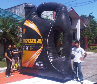 Inflatable Product Replica