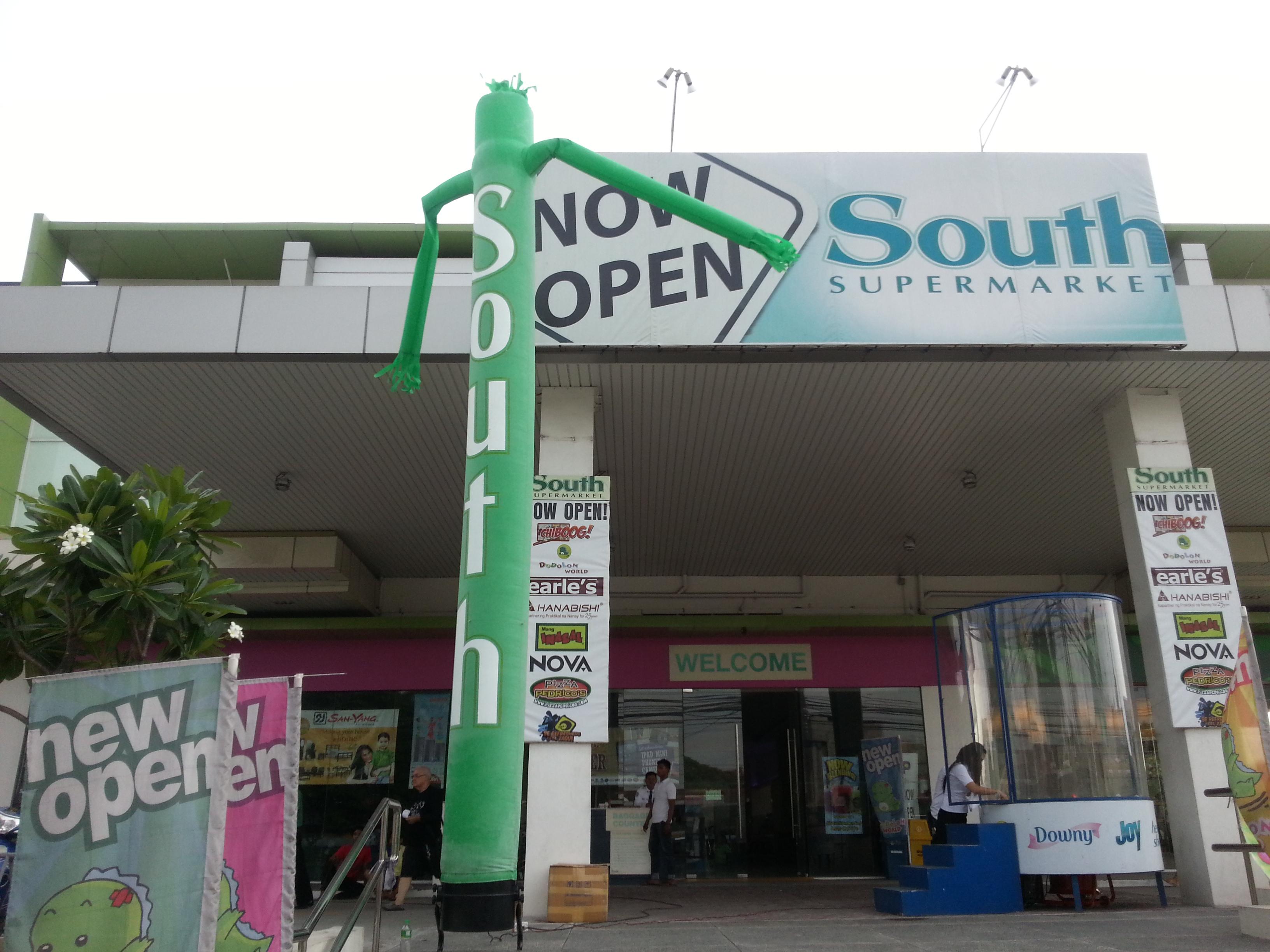 South Supermarket Air puppet