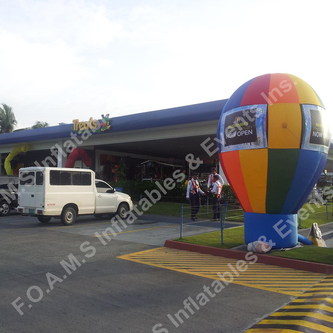 ground balloon